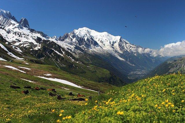 Il Monte Bianco il vero gigante tra le montagne delle Alpi