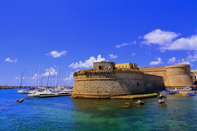 Il castello storico di Gallipoli